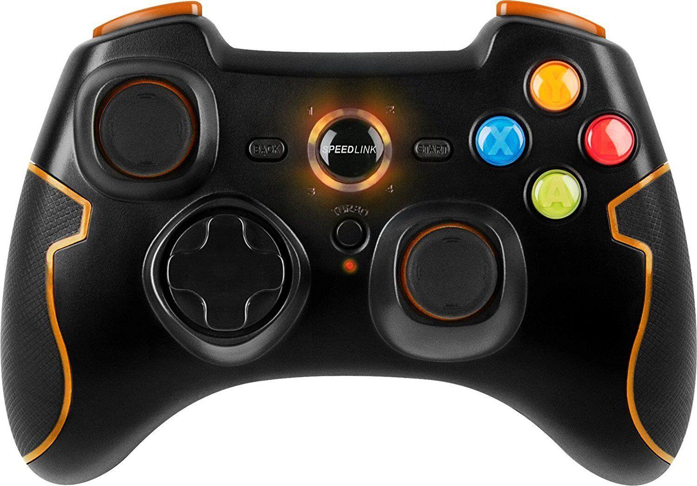 Speedlink TORID Gamepad kabellos Playstation 3 Controller für PC PS3 5-1-2-9572
