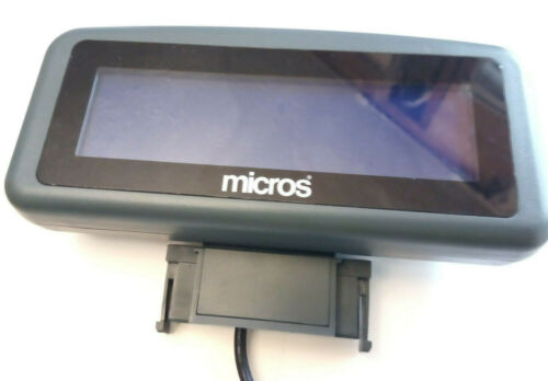 Micros POS WS5  WS5a Rear facing customer Display