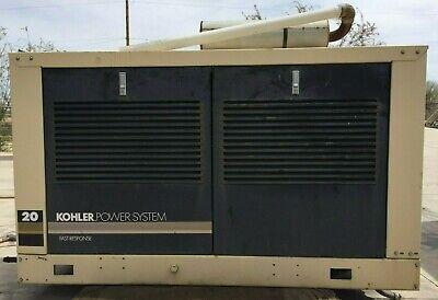 Kohler 20rz-qs Nat Gas Generator Only 445hrs