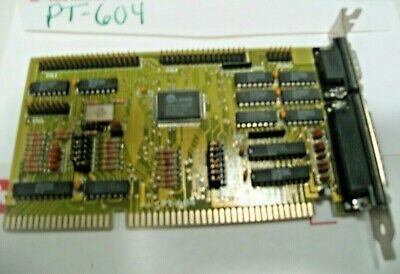 GoldStar Prime ISA IDE PT-604A Controller HDD FDD Card 286, 386, 486 RETRO