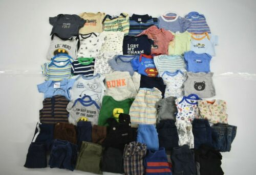 Wholesale Bulk Lot Of 50 Boys Size 3-6m Shirts Shorts Pants Pj Mixed Seasonal