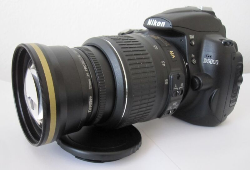 2x Telephoto Lens For Nikon d3100 d5100 d3000 d3200 d5000 d60 d40x w/18-55 r