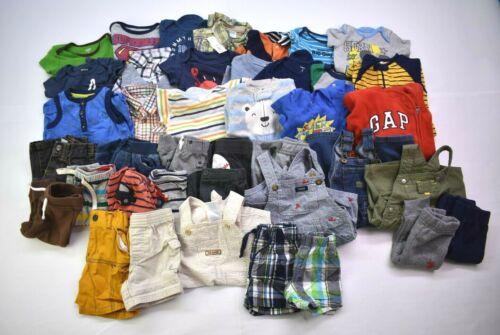 Wholesale Bulk Lot Of 40 Boys Size 3-6m Shirts Shorts Pants Mixed Seasonal