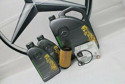 Genuine Mercedes-Benz E-Class E200 E220 E250 CDI Oil Filter & Engine Oil OM651