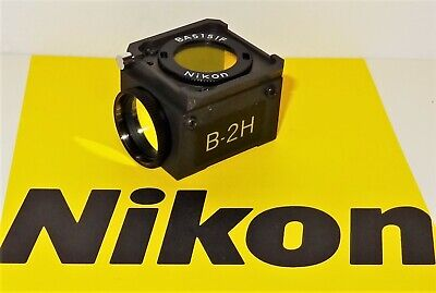 Nikon B-2h Fluorescent Microscope Filter Cube For Labophot Optiphot Microphot