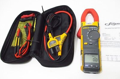 Fluke 381 Remote Display True Rms Acdc Clamp Meter W Calibration Calibrated