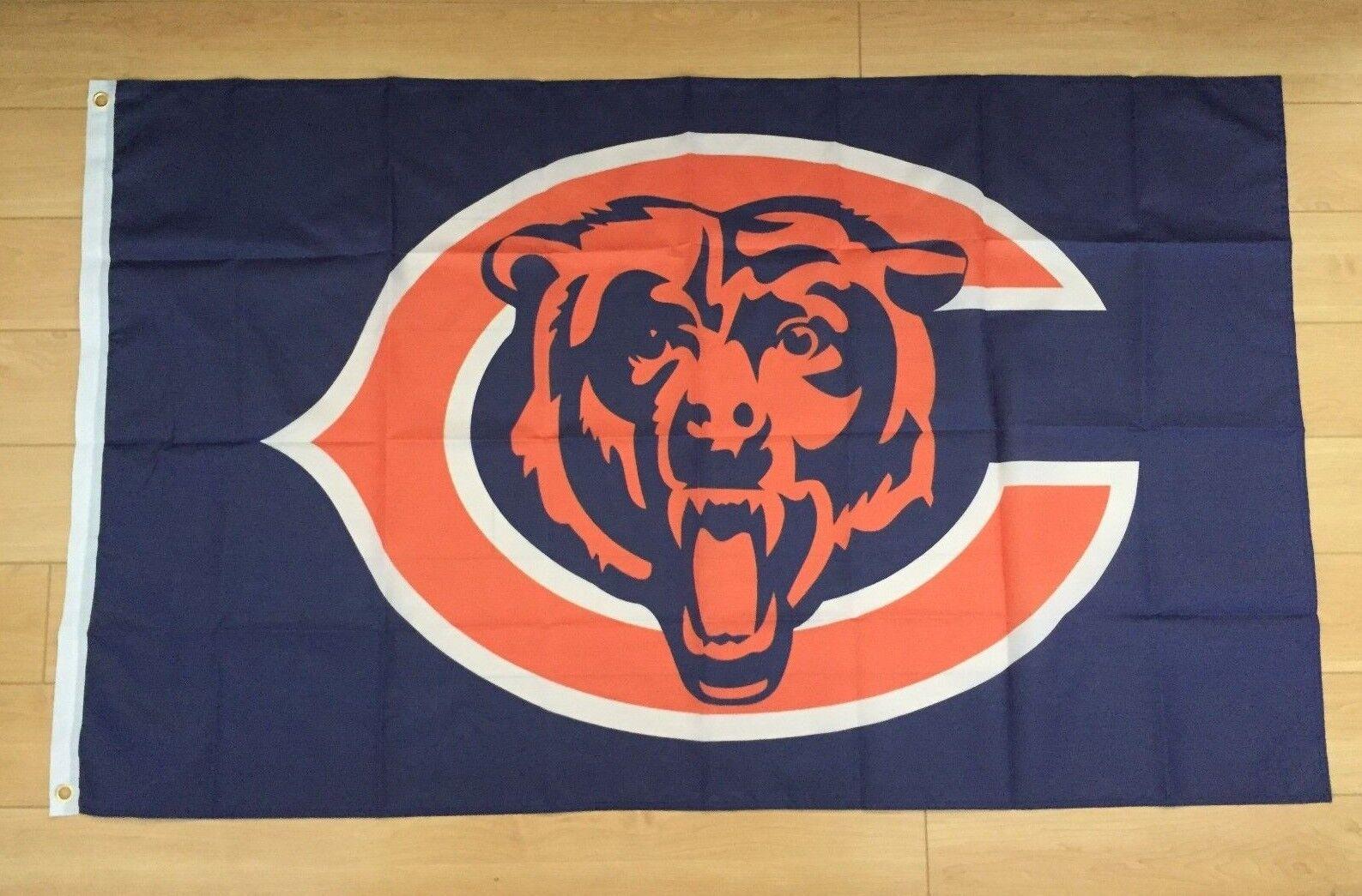 Chicago Bears Flag 3x5 ft Banner NFL