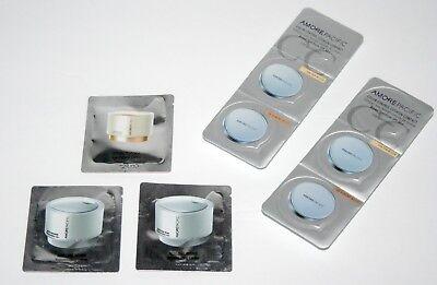 Creme Compact (2 Amore Pacific Color Compact Samples~104 TAN,106 ALMOND BLUSH & 3 Creme Samples)