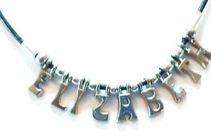 Personlised Name Necklace Any Name Up to 10 letters New