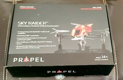 Impel Sky Rider Drone 2.4ghz with Camera (Black) - New in Box