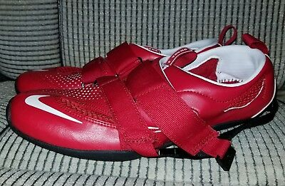 053f00c20af70 Nike OMADA 2 Rowing Shoes Red Mens Size 6 Womens Size 7.5 ( 486659-600 )