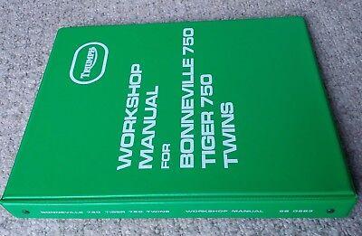 990983 Triumph T140V T140E 750 Bonneville TR7V  UK USA 1973-1978 Workshop Manual