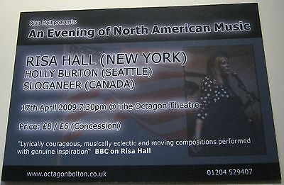 Advertising Music North American Risa Hall Octagon Bolton - unposted