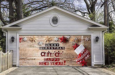 CHRISTMAS DECORATIONS Garage Door Covers Door Banners for Garage Decor GD35