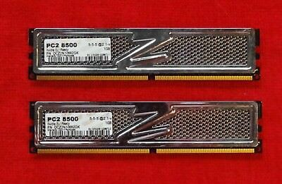 OCZ Platinum SLI-Ready Edition 2GB (2x1GB) DDR2-1066 Black PCB OCZ2N10662GK Ocz Platinum 1066