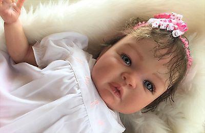 BABY SHYANN reborn baby girl art doll hand painted