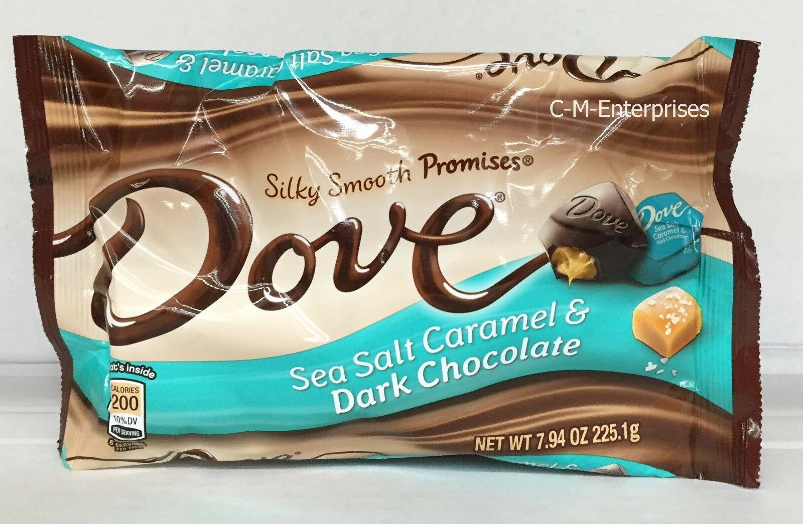 dove sea salt caramel dark chocolate silky smooth