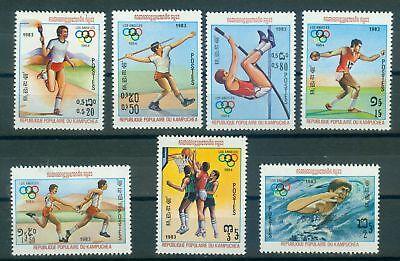 KAMBODSCHA 454 460 OLYMPISCHE SPIELE 1984