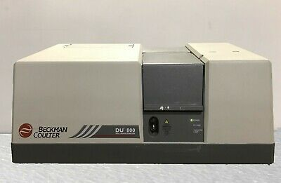 Beckman Coulter Du 800 Uvvis Spectrophotometer With 4 Month Wrty