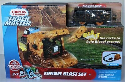 Thomas & Friends Track Master, Tunnel Blast Set Exclusive Diesel