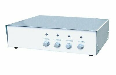 Four Place Magnetic Stirrer 4x1000ml 100-2000 Rpm 110v