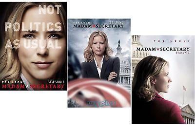 Madam Secretary Complete Tv Series Seasons 1 3  1 2 3  New 18 Disc Us Dvd Set