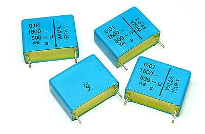 4pcs Wima Fkp1 0.01uf 0.01f 10nf 1600v 3.5 Capacitor