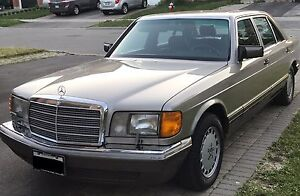 1989 Mercedes Benz SEL, Certified,E-tested