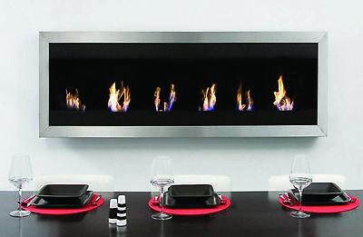 Designer Fire 'Copenhagen' fireplace