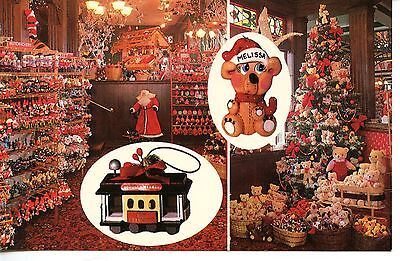 Santa Claus Christmas Store-San Francisco-California-Adv Vintage Postcard ()