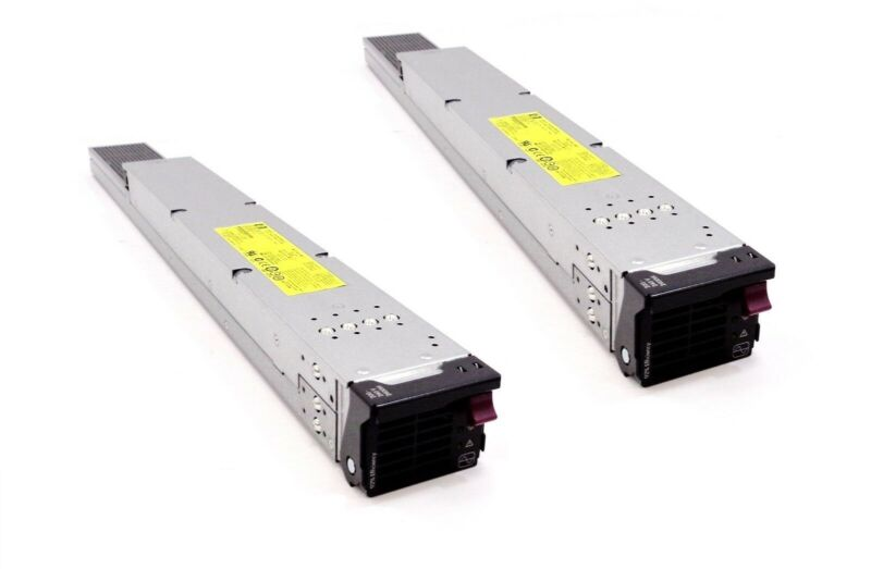 Lot of 2 HP BladeCenter C-Class C7000 2450W Power Supply 488603-001 500242-001