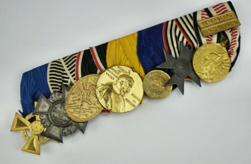 WW1 Imperial German Army pin afrika badge medal uniform WW2 parade ribbon bar
