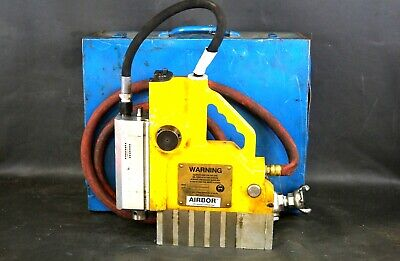 Unitec Airbo 9052 Ex Portable Pneumatic Magnetic Drill W Case