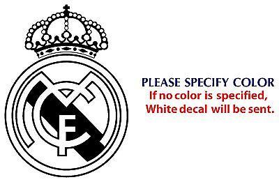"REAL MADRID Football JDM Funny Vinyl Decal Car Sticker Window Wall Laptop 7"""
