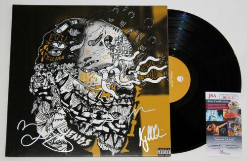 PORTUGAL. THE MAN SIGNED EVIL FRIENDS LP VINYL RECORD ALBUM AUTOGRAPHED +JSA COA