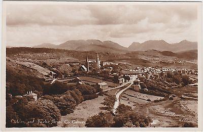 Irish Real Photo. Clifden & Twelve Bens. Co. Galway. Fine condition!  c 1915