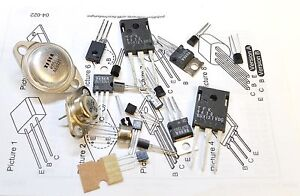 ELECTRONIC COMPONENTS ASSORTMENT -  TRANSISTOR PACK, TO3/TO92  -20pk