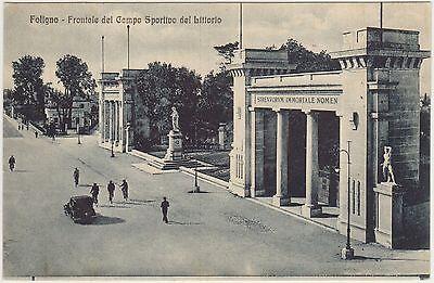 FOLIGNO - CAMPO SPORTIVO DEL LITTORIO (PERUGIA)