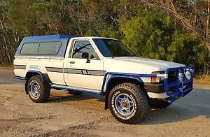1986 Toyota Hilux Immaculate survivor, collectors item, 93,000kms Flaxton Maroochydore Area Preview