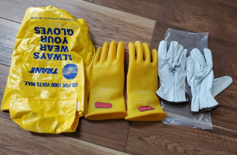D120 Type I Class 0 Lineman Gloves 1000V Size 9