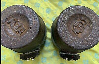 Pair of WIGO HF horn driver DEW Magnet Rare item!