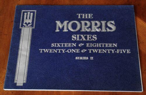 Morris Sixes brochure Prospekt, 1936 - Excellent!