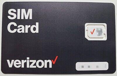 Verizon SIM card•Samsung Galaxy S6 S6 Edge S7 S7 Edge S8 S
