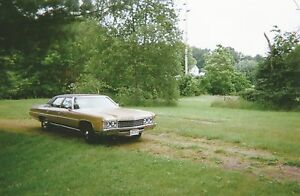 1971 Chevrolet Impala Classic 4 door sedan - Mint cond