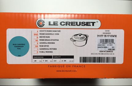 Le Creuset 20cm Round French Oven