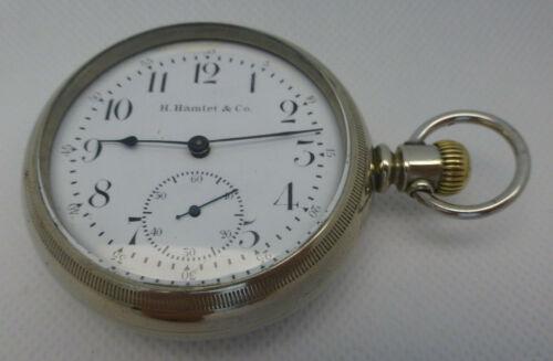 Antique H. Hamlet Pocket Watch -23 Jewels -BEST OFFER