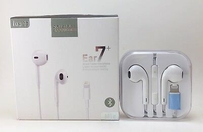 Headset Headphones Earbuds - Wired Bluetooth Lighting Earbuds Earpods Headphones Headset For Apple iPhone