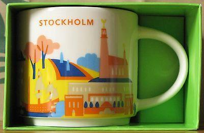 Starbucks You Are Here YAH Mug Stockholm, 14 oz neu, *** SKU - Rare - HTF ***