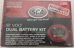 Duel battery , 12volt kit . Brand new cost $140 Merrimac Gold Coast City Preview