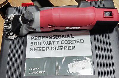 Clearance - Rural365 Sheep Shears - 500w Dual Blade Livestock Shears 6 Speed